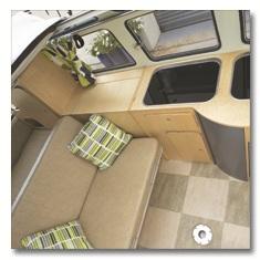 campeer uitrusting /interieurs