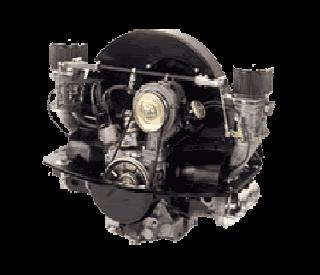 motor en versnelingsbak